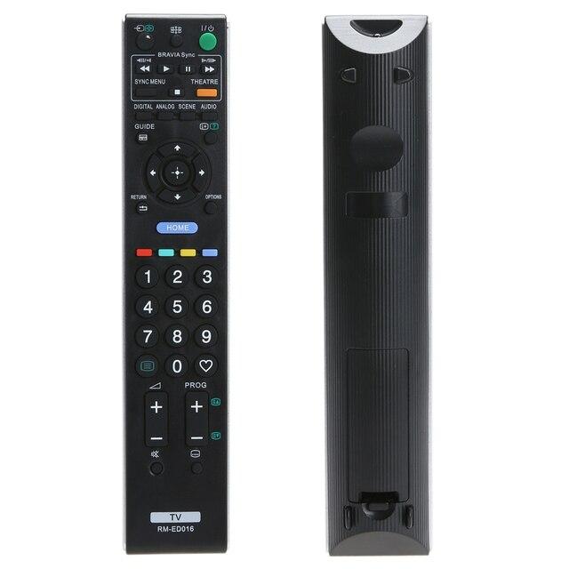 Wysokiej jakości pilot zdalnego sterowania dla Sony RM ED016 w celu uzyskania pilot zdalnego sterowania dla Sony TV RM ED016 telewizor z dostępem do kanałów sterowania zdalnego