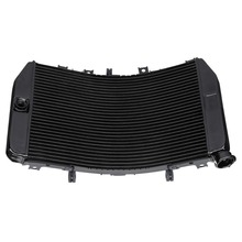 купить Moto Black Aluminum Engine Cooling Cooler Radiator For Suzuki GSX R1000 2004 GSXR 1000Z 2001-2002 по цене 8056.39 рублей