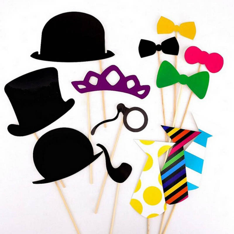 New Fun Photo Booth Props Mustache Party Masks On A Stick Wedding Party Favor 58pcsNew Fun Photo Booth Props Mustache Party Masks On A Stick Wedding Party Favor 58pcs