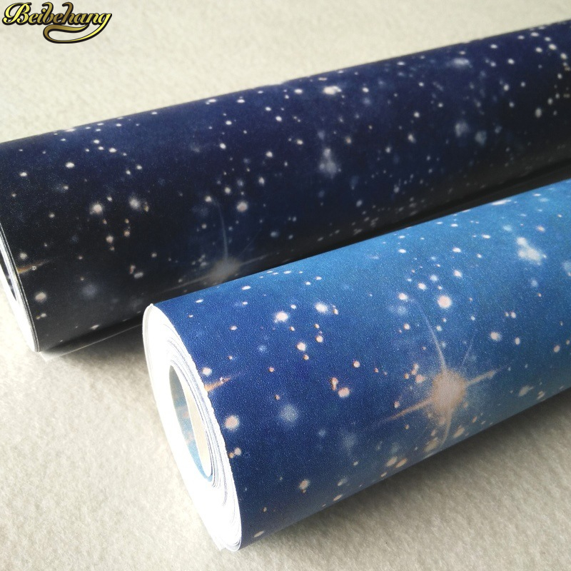 beibehang papel de parede 3D Cosmic sky Luxury Modern Wallpaper For Walls wall mural wall paper Living Room home decor painting beibehang blue retro nostalgia wallpaper for walls 3d modern wallpaper living room papel de parede 3d wall paper for bedroom