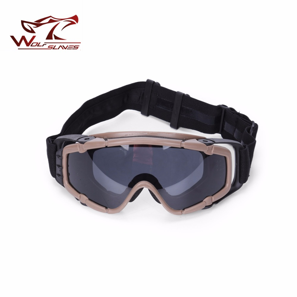 2017 FMA OK combat Goggle Air-soft Tactical Outdoor hunting Goggles with fan Tactical eye Protective Riding Glasses