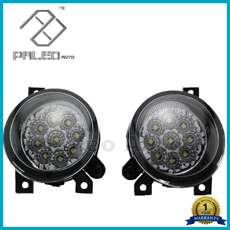 2PCS Free Shipping For VW Golf 5 GTI 2004 2005 2006 2007 2008 2009 New High Quality DRL 9 LED Fog Lamp Fog Light aftermarket free shipping motorcycle parts eliminator tidy tail for 2006 2007 2008 fz6 fazer 2007 2008b lack