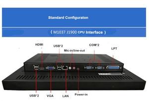 Image 4 - 12 дюймов промышленный сенсорный экран панель ПК Intel M1037 1,8 GhzTouch экран медицинская панель ПК, ПК allinon