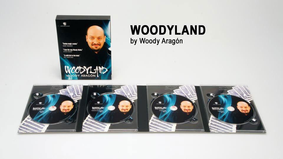 EMC - Woody Aragon - Woodyland (1-4) Magic Tricks