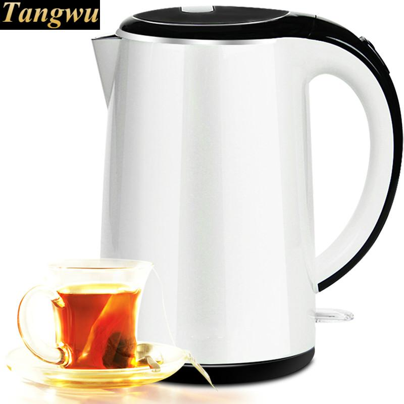 household electric kettle 304 stainless steel kettles heating Fashion product new
