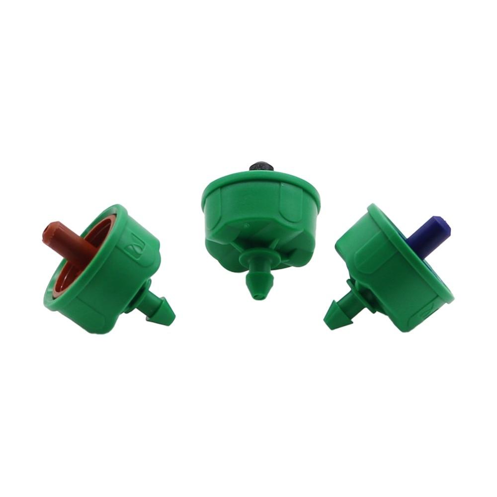10 Pcs 2L/4L/8L Steady Flow Dripper Automatic Pressure Compensation Regulator Garden Irrigation Pressure Control Emitter