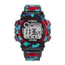 2017 Dignity Kids Child Boy Girl Multifunction Waterproof Sports Electronic Watch Watches  MA 12