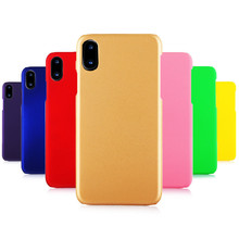 Phone Cases For Coque iphone 8 Case 360 Matte Hard plastic PC Candy Color Back Cover For iphone 7 6 6S Plus 5 5S 4S 5C X 10 Case стоимость
