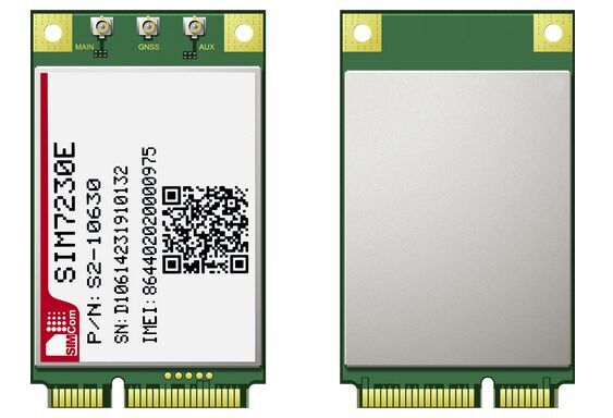 Free Shipping SIM7230E 4G 100% New Original Genuine Distributor TDD-LTE/FDD-LTE/WCDMA Embedded quad-band module huawei me936 4 g lte module ngff wcdma quad band edge gprs gsm penta band dc hspa hsp wwan card