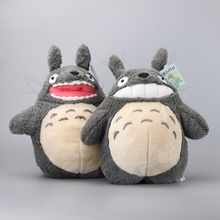 Hot Sale Anime 3 Styles Ghibli Miyazaki Hayao My Neightor Totoro Cute Stuffed Plush Toys Soft Dolls Kids Gift Large Size 36 CM