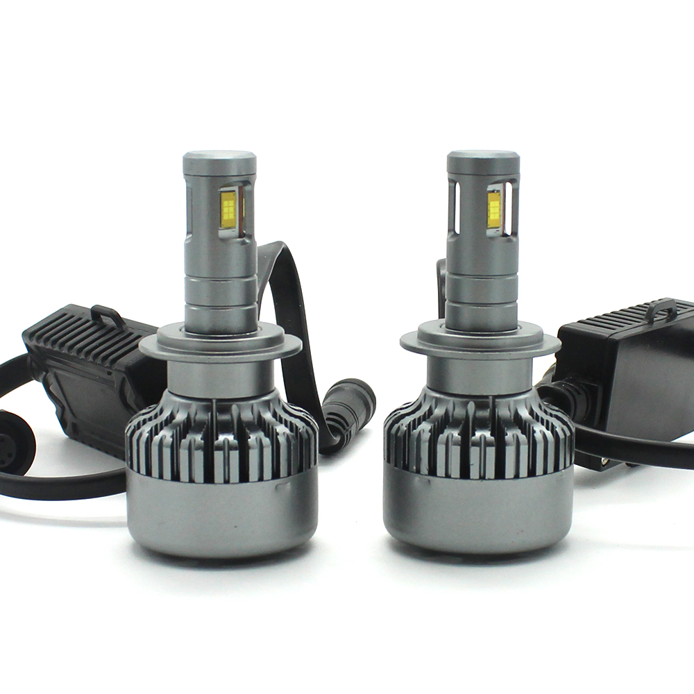 Modifygt V10 H4 <font><b>led</b></font> H7 <font><b>led</b></font> H11 <font><b>H15</b></font> 8000LM 100W 12V 24V Car <font><b>led</b></font> light Headlight hi-lo <font><b>no</b></font> <font><b>error</b></font> canbus car accessories image