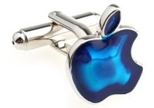 Fashion Cuff Links apple design factory supply anti-oxidation copper  free shipping885965b
