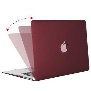 Image 2 - MOSISO Новый Кристальный/матовый чехол для Apple Macbook Pro Retina 13 15 дюймов Сумка для ноутбука, для нового Pro 15 с сенсорной панелью A1707 A1990 A1398