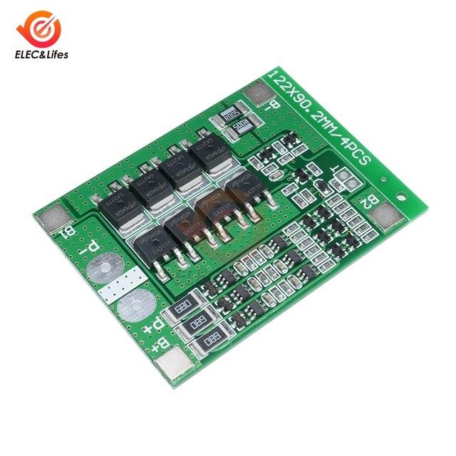 3S 25A 18650 Lithium-Batterie Ladegerät Schutz Bord BMS PCM PCB Board Mit Balance Li-Ion Lipo Batterien Zelle Pack modul