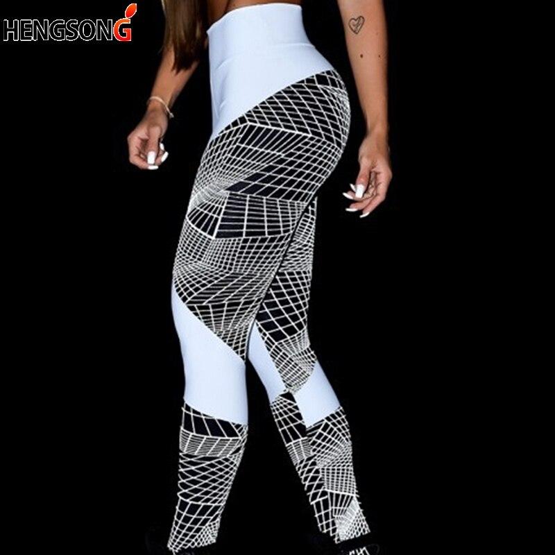 100% QualitäT Frauen Digitaldruck Leggings Workout Leggings Hohe Taille Push-up Leggins Mujer Fitness Leggings Frauen Hosen Neue Sorten Werden Nacheinander Vorgestellt