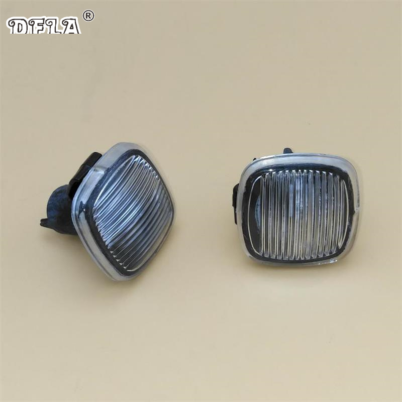 2pcs For Skoda Octavia MK1 A4 2001 2002 2003 2004 2005 2006 2007-2011 Car-Styling Side Marker Turn Signal Light Repeater jeazea glove box light storage compartment lamp 1j0947301 1j0 947 301 for vw jetta golf bora octavia 2000 2001 2002 2003 2004
