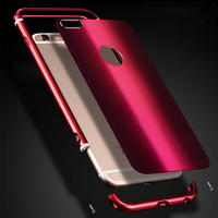 Phone Cases For IPhone 7 Plus Case Luxury Shockproof Metal Sturdy Dropproof Back Cover For IPhone