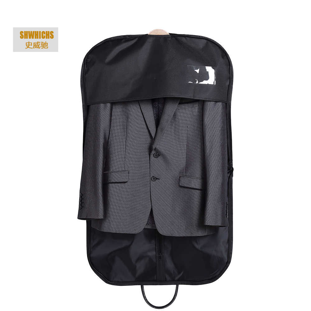 9885fca79f Oxford Hangin Coat Clothes Garment Suit Cover Bags Dustproof HangerMen  Women travel bag organizer