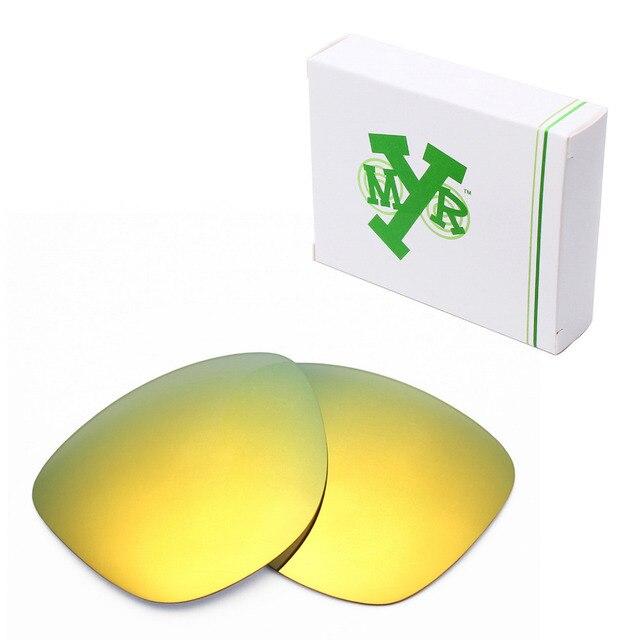 MRY ПОЛЯРИЗОВАННЫХ Сменные Линзы для Oakley Frogskins Солнцезащитные Очки 24 К Золото