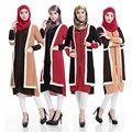 Abaya musulmán Islámico turco Vestido de dubai kaftan abaya Musulmán ropa Islámica 2805