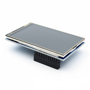 Image 2 - 5 stks/partij LCD module Pi TFT 3.5 inch (320*480) touchscreen Tft Module voor Raspberry Pi 3