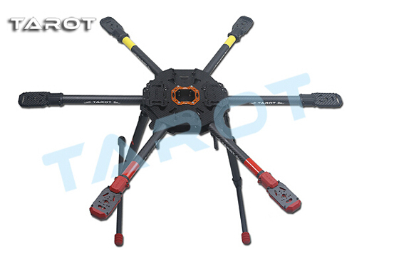 Multicopter-Frame Tarot 810 Hexacopter Electric Sport With Retractable Landing-Gear/skid
