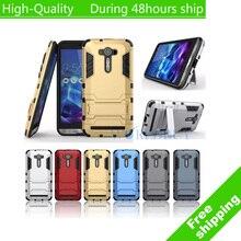 Heavy Duty Hybrid Броня PC + ТПУ Чехол С Держателем Для ASUS Zenfone ZE 550KL 550 КЛ