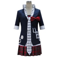 2018 Danganronpa Cosplay Junko Enoshima Cosplay Japanese Anime Costume Custom made