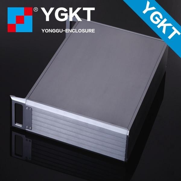 ФОТО YGH-002-3B 482*89*250mm 19'2U   Aluminum  instrument custom case with flat server cabinet /42holes rack mount