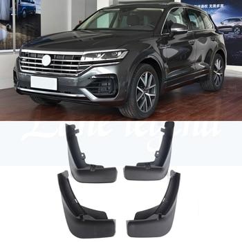 Car Accessories Fender Flares Mud Flaps Mudguards Splash Guards Mudflaps For Volkswagen VW Touareg R-line 2018 2019