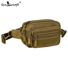 New Arrival! SINAIRSOFT 2017 New Molle bag Accessory Pouch Nylon Crossbody bag Waist Bags Handbag Nylon Package