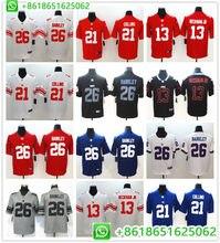 2018 New Men New York Saquon Barkley Odell Beckham Jr Landon Collins Vapor  Untouchable Limited Player Jersey Shirts d00141fd7