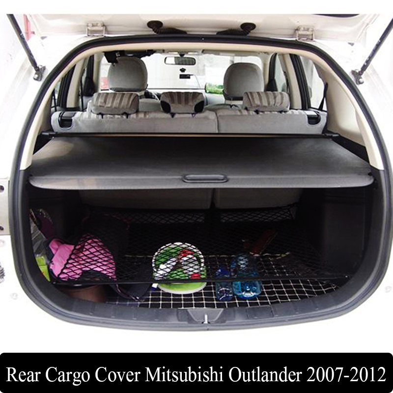 Mitsubishi Outlander Consumer Reviews: For Mitsubishi Outlander 2007 2012 Rear Cargo Cover