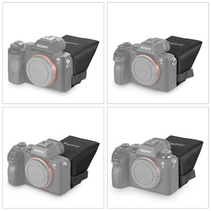 Image 3 - SmallRig A7M3 LCD ekran güneşlik Sony A7 A7II A7III A9 serisi kameralar güneş gölge 2215