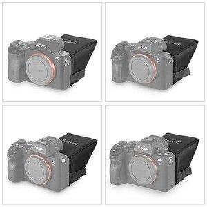 Image 3 - SmallRig A7M3 ekran LCD Sunhood dla Sony A7 A7II A7III A9 serii kamery parasol przeciwsłoneczny 2215