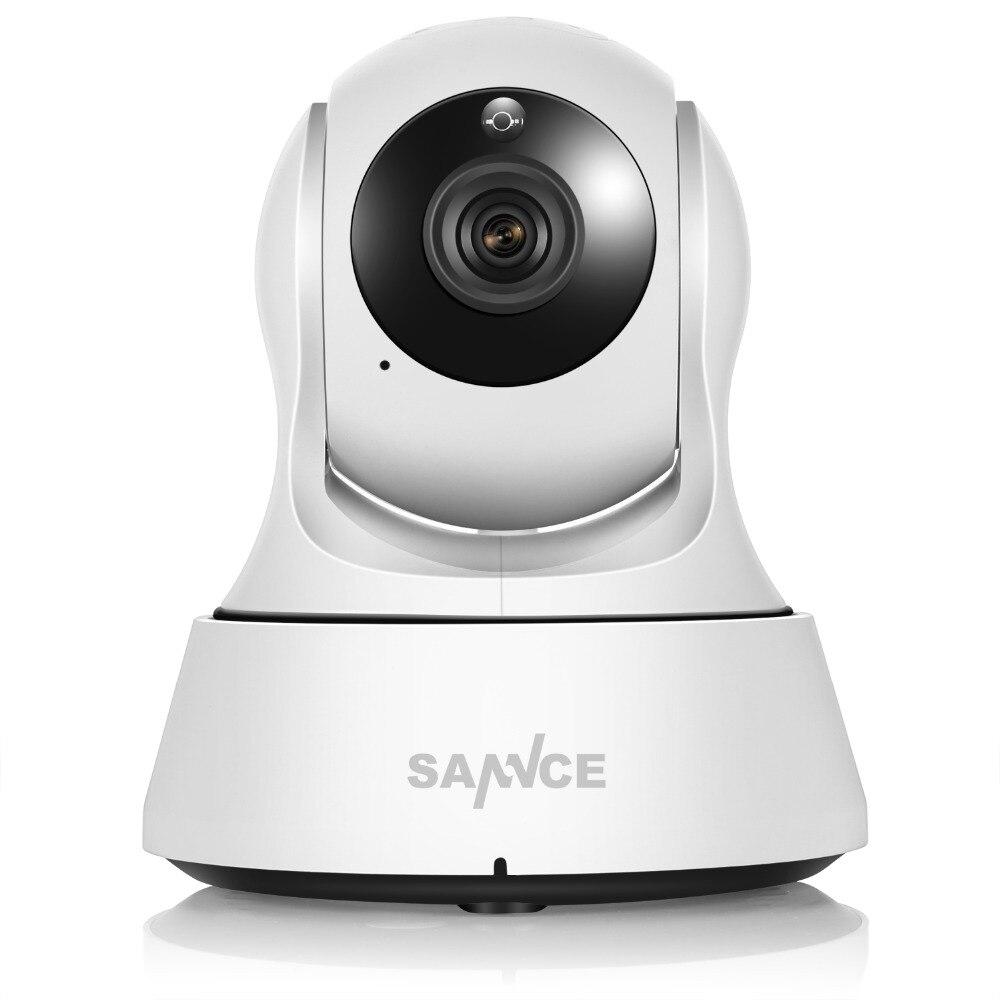 SANNCE Wifi IP Caméra HD 720 P Sans Fil 1MP Intelligente CCTV Caméra de sécurité P2P Réseau Baby Monitor Home Protection Mobile À Distance Cam