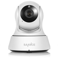 SANNCE Wifi IP Camera HD 720P Wireless 1MP Smart CCTV Security Camera P2P Network Baby Monitor