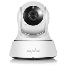 SANNCE Wifi IP Camera HD 720P Wireless 1MP Smart font b CCTV b font Security Camera