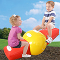 2015 Free Shipping New Funny Double Inflatable Seesaw Children Platen Teeter Board Game Toys Outdoor Inflatable Recreation