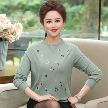 2019 Women Sweaters And Pullovers Autumn Winter O-neck Long Sleeve Pull Femme Solid Female Casual Knitted Sweater Plus Size 4XL цены