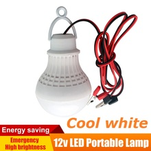 12V DC LED Lamps Portable Tent Camping Light SMD5730 Bulbs Outdoor Night Fishing Hanging Light Battery Lighting 5W 7W 9W 12W