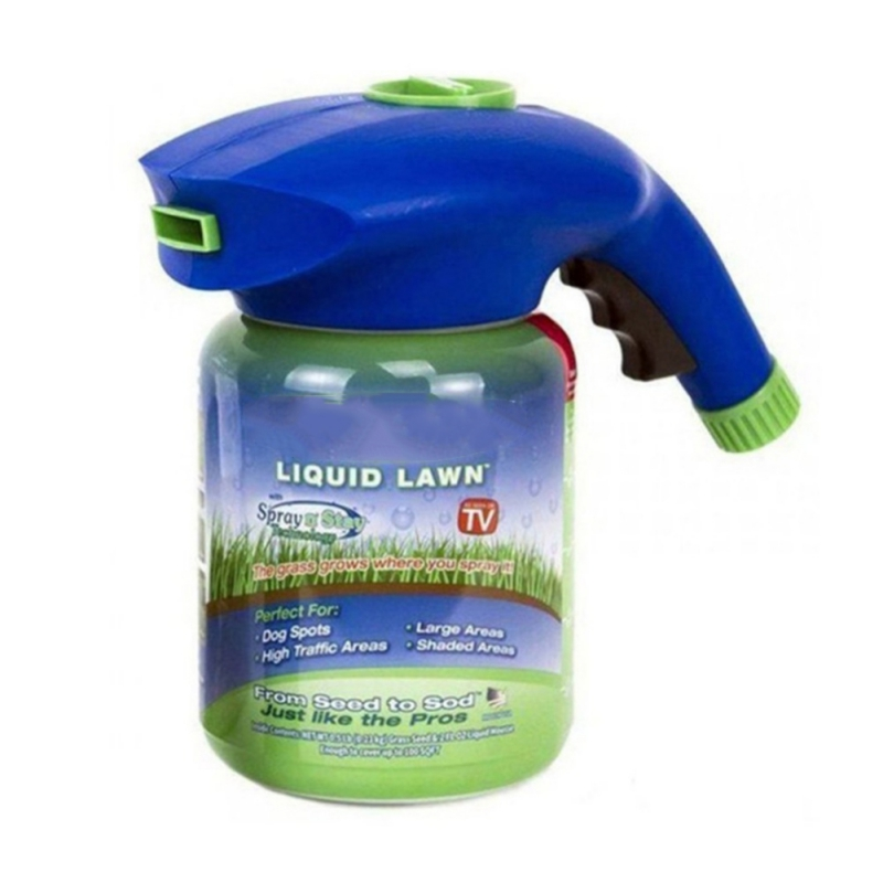 Garden Lawn Mousse Household Hydro Seeding System Liquid Spray Device For Seed Lawn Care Tools Including Liquid