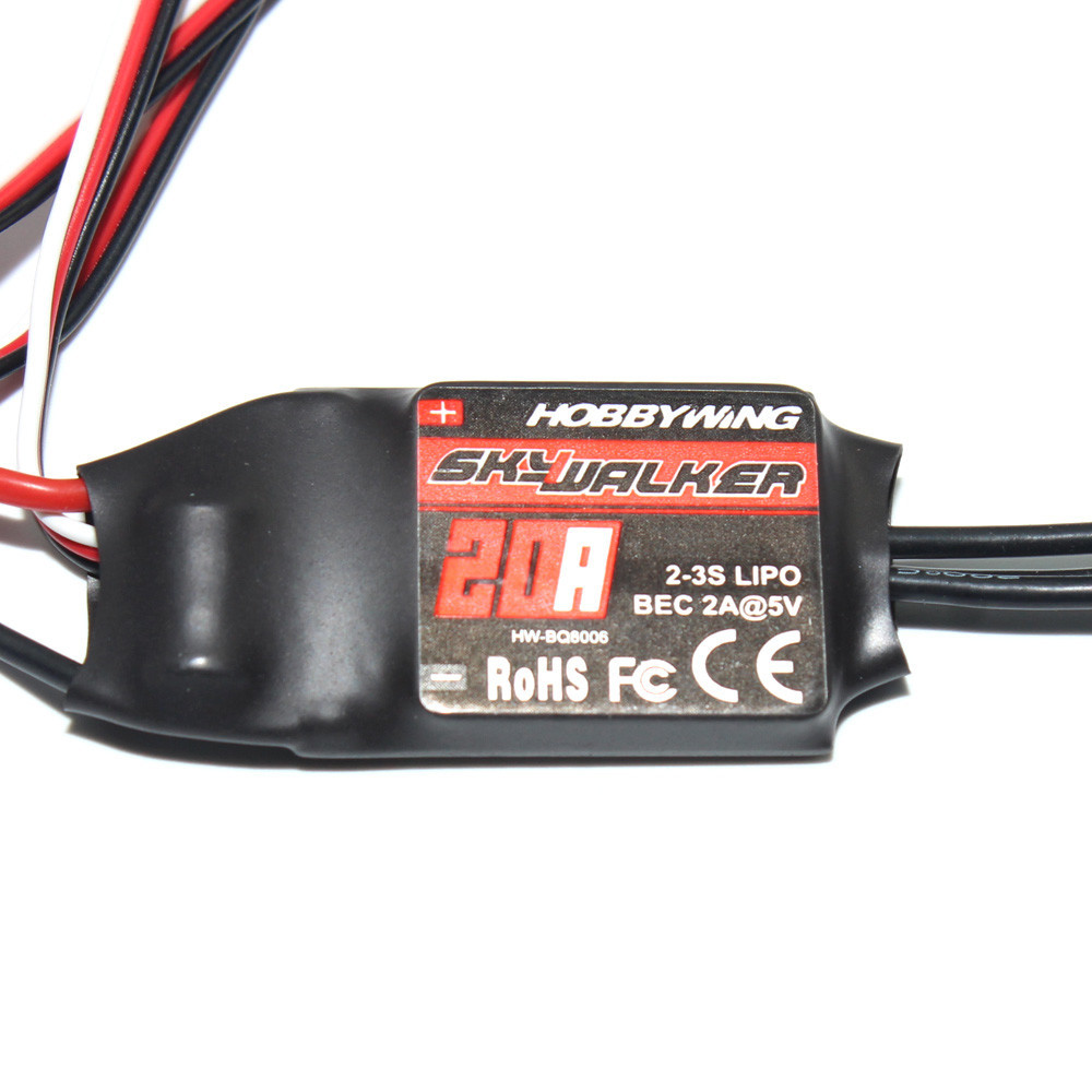 F17836 37 Drone Parts Hobbywing SkyWalker BEC 2 3S Lipo Speed Controller 20A 15A Brushless ESC