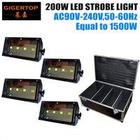 ATA data data powrotu (trasy drogowej etui podróżne do TIPTOP 200 W doprowadziły etap światło stroboskopowe V003 oprogramowania 4 kanały/zostało uruchomione tryb CE ROHS 90 V 240 V w Oświetlenie sceniczne od Lampy i oświetlenie na