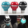 Car Universal Aluminum Black Car Gear Shift Knob Shifter Lever Fit for Automobile Manual Transmission pool table/Billiards No.8
