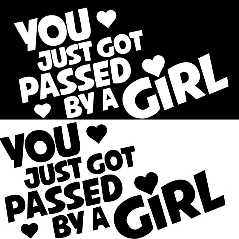Free shipping cool car sticker for girl