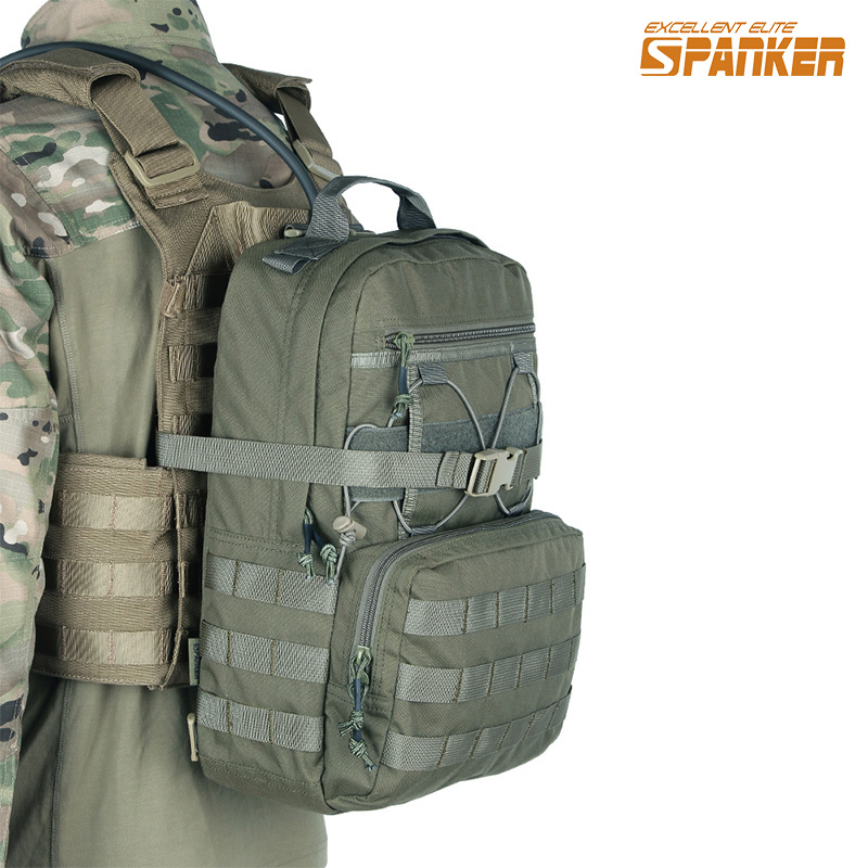 EXCELLENT ELITE SPANKER Outdoor Hunting Camping Hydration Backpack Molle Military Tactical Army Nylon Hiking Vest Hydration Bags emersongear lbt2649b hydration carrier for 1961ar molle backpack military tactical bags hunting bag multicam tropic arid black