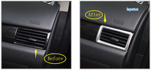 цена на Lapetus Air Conditioning AC Outlet Vent Decoration Frame Cover Trim 4 Pcs / Set Fit For Mitsubishi Outlander 2014 - 2019 / ABS