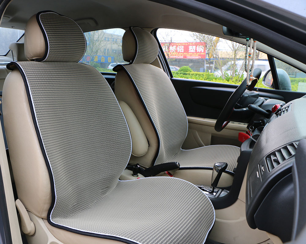 ④1 Piece Breathable Mesh Ice Silk Car Front Seat Cover Pad Fit ...