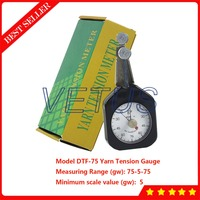 DTF 75 Pointer Dual Needles Yarn Tension Meter Gauge of Tiny Metal Wire Tensionmeter Tester 75 5 75gw Measurement Range
